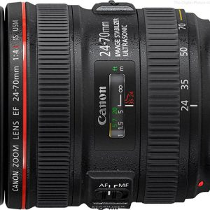 Canon EF 24 70mm f 4 L IS USM Lens