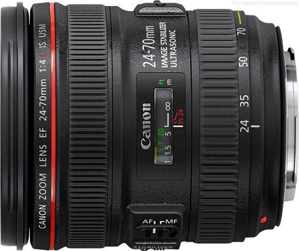 Canon EF 24 70mm f 4 L IS USM Lens
