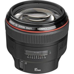 Canon EF 85mm f 1 2L II