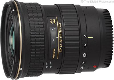 Tokina 12 28mm f 4.0 AT X Pro DX Lens