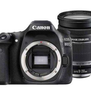 canon 80d 18 200