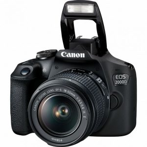canon eos 2000d 18 55 is II