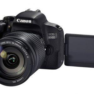 canon eos 800D 18 200