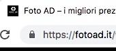 SSL barra indirizzi OK
