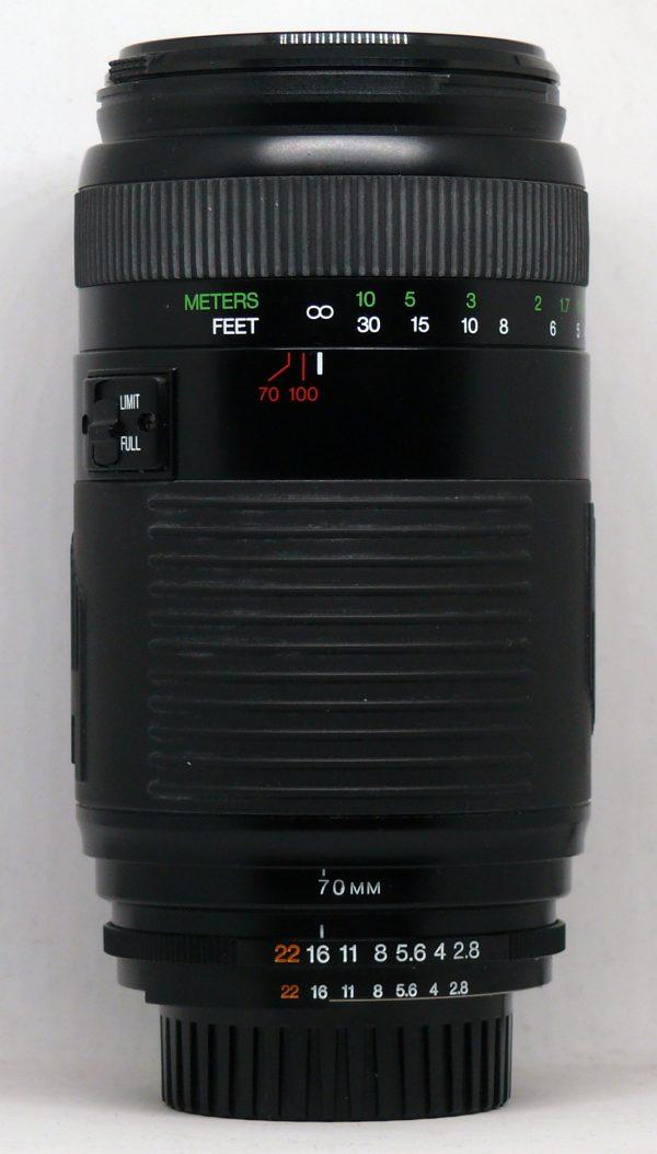 COSINA 70 210 F28 4 PER NIKON AF 001