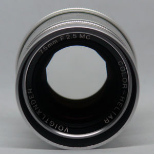 voigtlander color heliar 75 2.5 000
