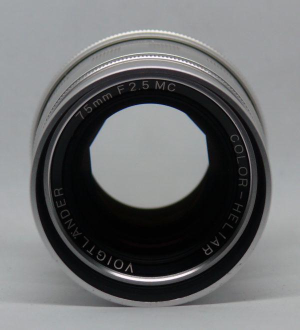 voigtlander color heliar 75 2.5 000