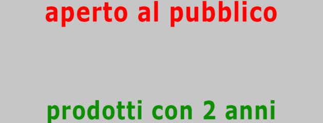 MERCE SPEDITA DALL'ITALIA