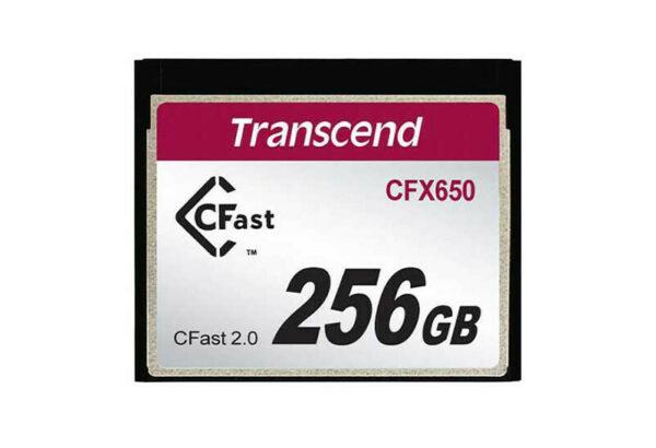 transcend 256gb cfast 2.0